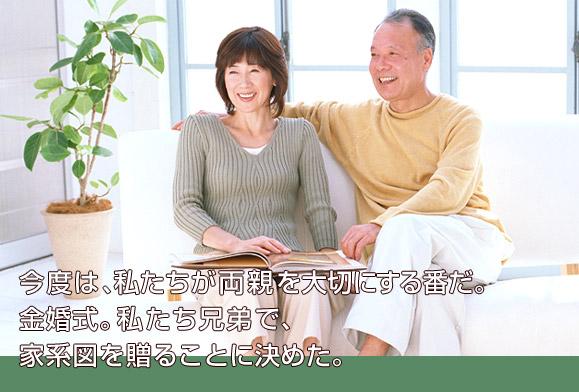 両親へのありがとう